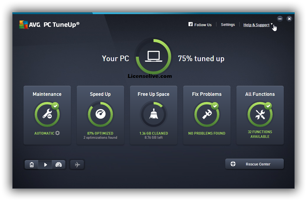 AVG PC TuneUp 2021 Crack With Keygen Full [Latest Verion]