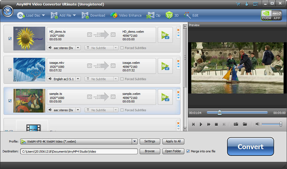 AnyMP4 Video Converter Ultimate 8.1.8 Crack With Key 2021