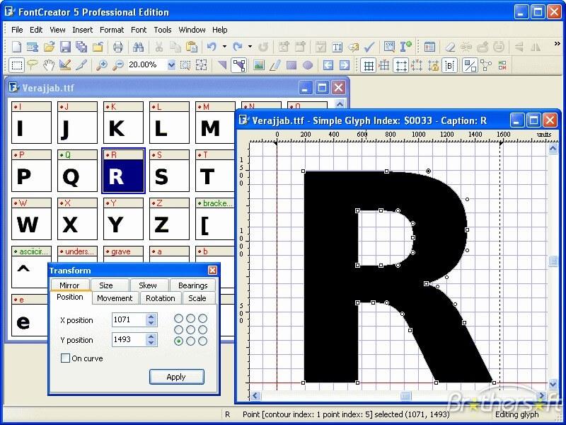 High-Logic FontCreator crack